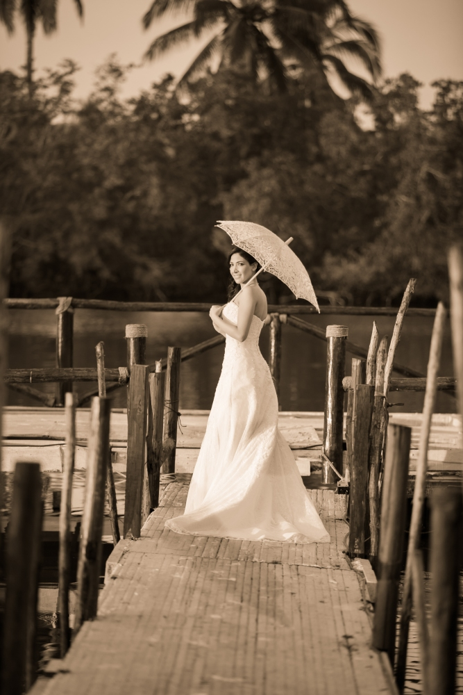 Liz y Mauricio Trash the Dress (1/6)