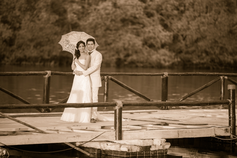 Liz y Mauricio Trash the Dress (3/6)