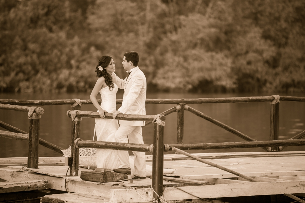 Liz y Mauricio Trash the Dress (4/6)